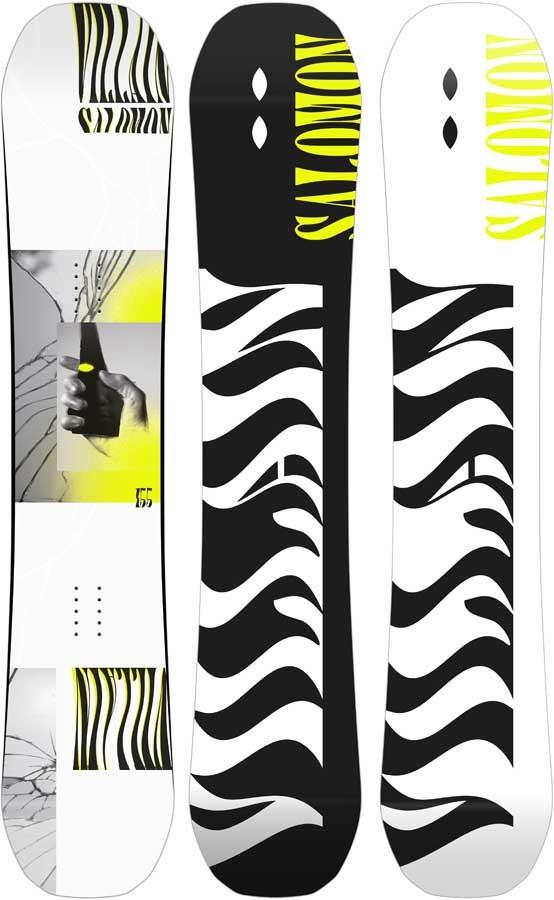 Salomon Villain Hybrid Camber Snowboard, 153cm 2020