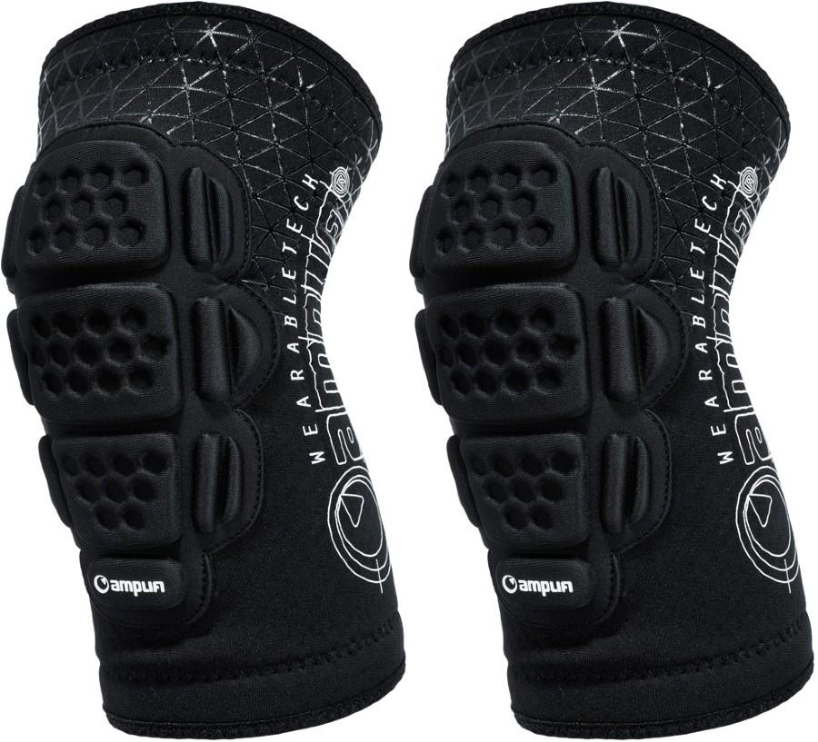 Amplifi Buffer Ski/Snowboard Elbow Pads, XL Black