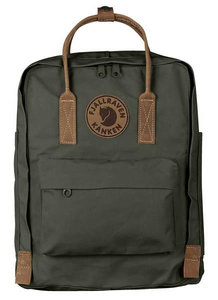 Fjallraven Kanken No.2 Day Pack/Backpack, 16L Deep Forest