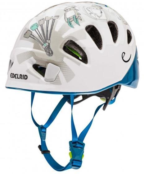 Edelrid Adult Unisex Shield 2 Kids Helmet Kids Climbing Helmet, 48 - 56 Cm Petrol