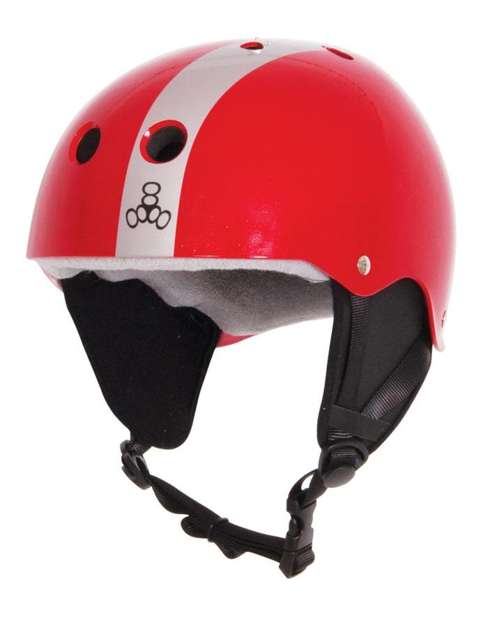 Liquid Force FLASH Wakeboard Helmet, XL Red Silver
