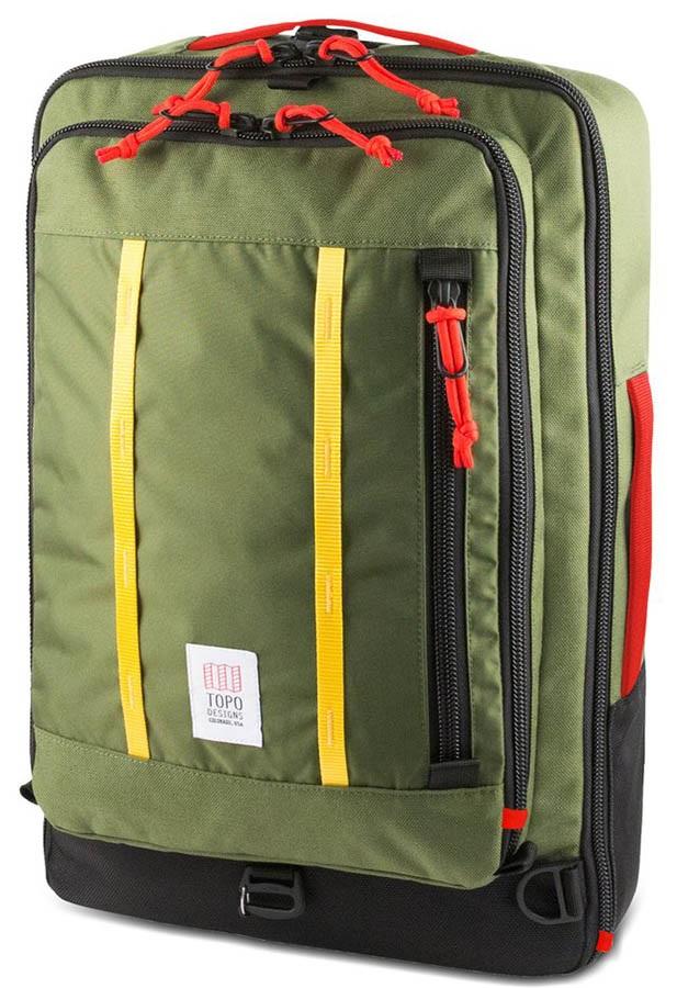 Topo Designs 30L Travel Bag Travel Pack, Olive