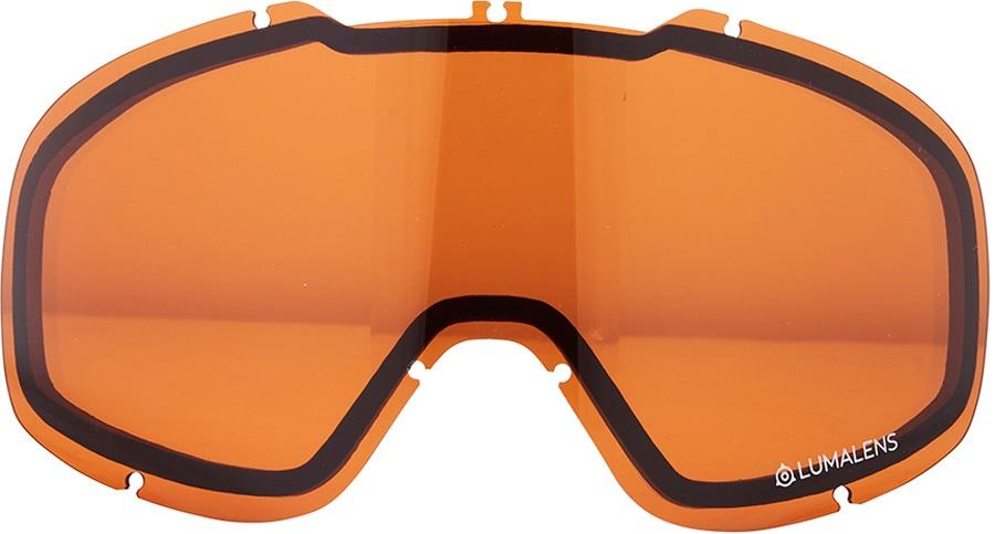 Dragon DX2 Snowboard/Ski Goggle Spare Lens LumaLens Amber