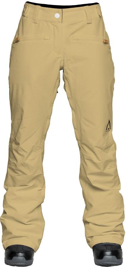Wearcolour Cork Women's Ski/Snowboard Pants, XS Sand