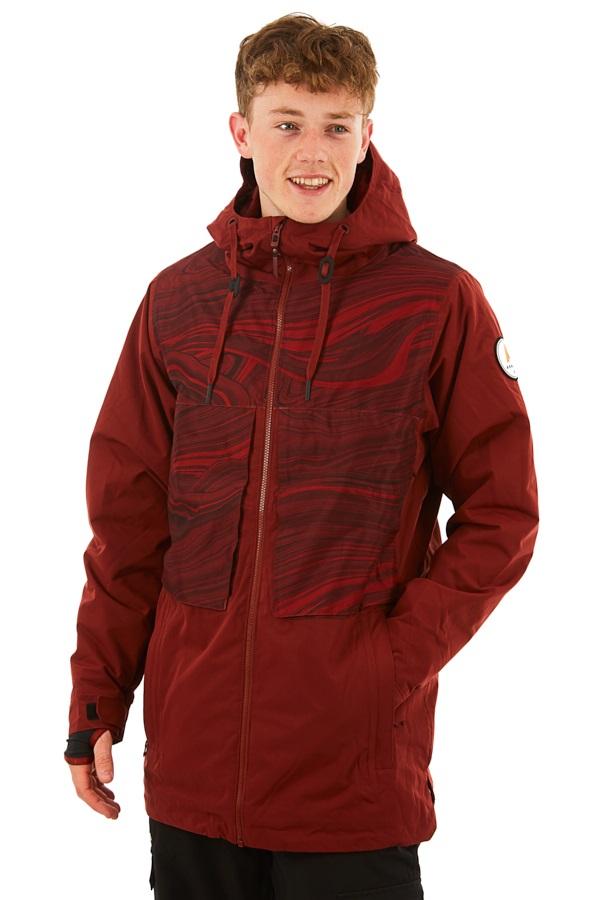 Armada Carson Insulated Snowboard/Ski Jacket, S Clay
