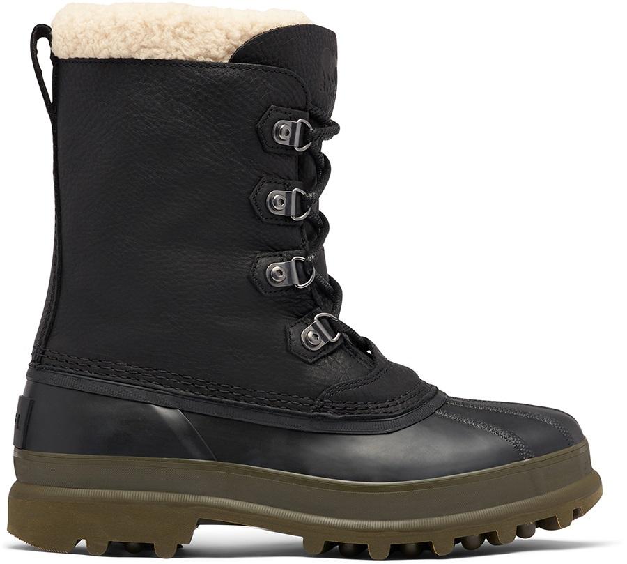 Sorel Adult Unisex Caribou Stack Wp Men's Winter Snow Boots, Uk 7 Black