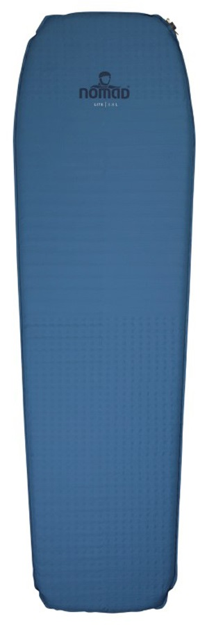 NOMAD® Lite 3.8 Lightweight SI Camping Mat, Large Titanium