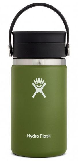 Hydro Flask 12oz Wide Mouth Flex Sip Lid Coffee Flask, 12oz Olive