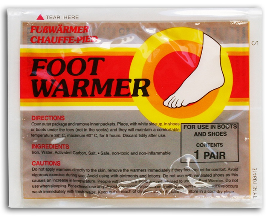 MyCoal Disposable Foot Warmers