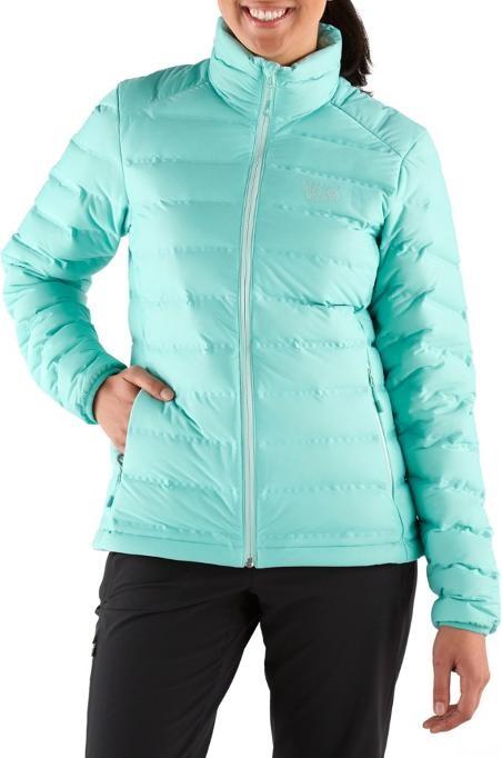 Mountain Hardwear StretchDown Jacket Women's Insulated, M Spruce Blue