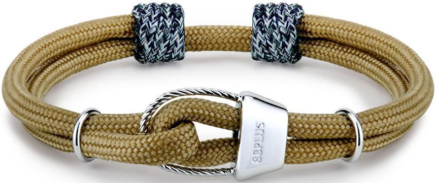 8b+ Belay Tube X Nylon Cord Galatiani Rock Climbing Inspired Bracelet