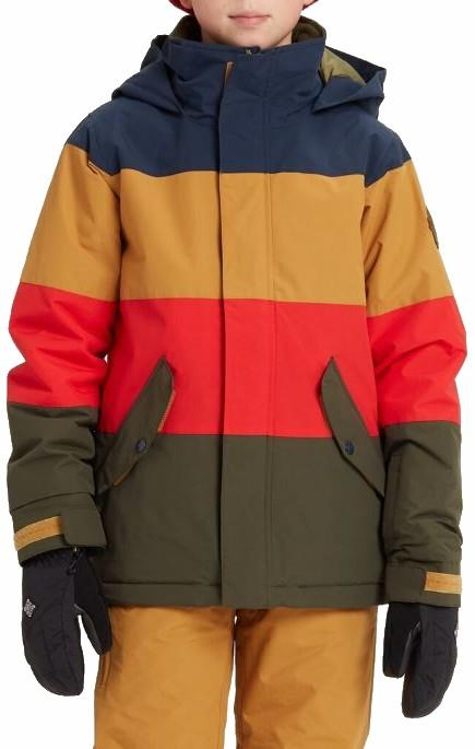 Burton Symbol Boy's Snowboard/Ski Jacket, Boys L Dress Blue Multi