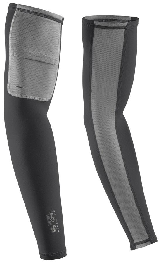 Mountain Hardwear WayCool UPF 25 Sun Protection Arm Sleeves, XL Shark
