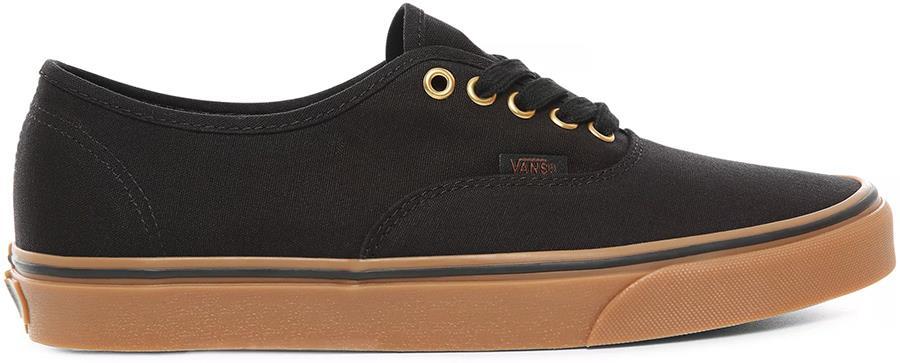 Vans Authentic Skate Shoe, UK 7 Black/Rubber