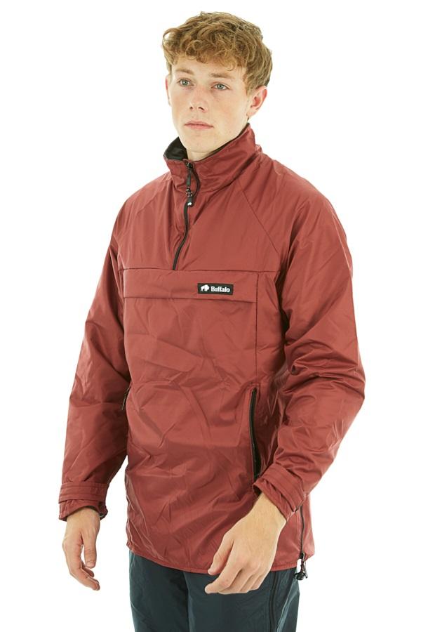 Buffalo Active Lite Shirt Technical All Weather Jacket L Deep Russet