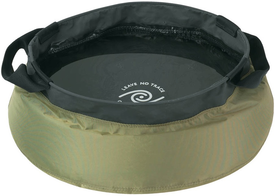 Sea to Summit Kitchen Sink Collapsible Travel Wash Bowl, 10L Green