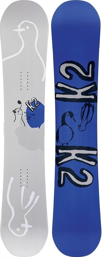 K2 Medium Hybrid Camber Snowboard, 155cm 2020