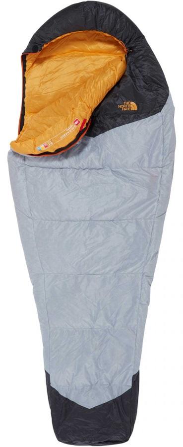 The North Face Gold Kazoo Down Sleeping Bag, Regular LH Zip