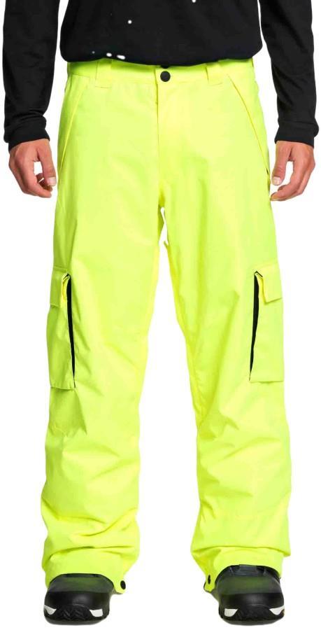 DC Banshee Ski/Snowboard Insulated Pants M Safety Yellow