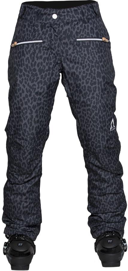 Wearcolour Cork Women's Ski/Snowboard Pants, S Black Leo