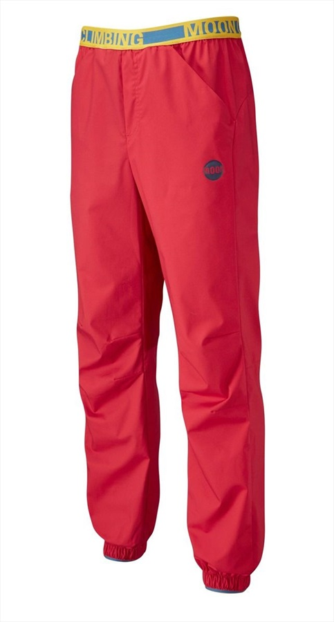 Moon Samurai Pant Men's Climbing Trousers, L True Red