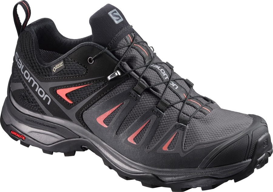 Salomon X ULTRA 3 GTX Walking Shoes, UK 4 Magnet