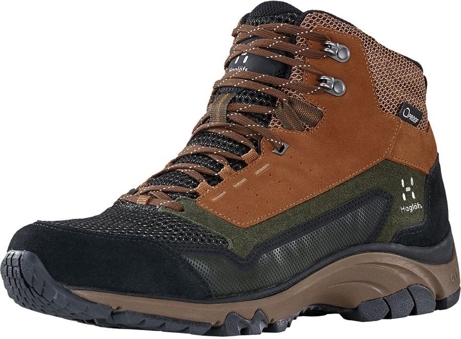 Haglofs Skuta Mid Proof Eco Men's Hiking Boots, UK 8 Oak/Deep Woods