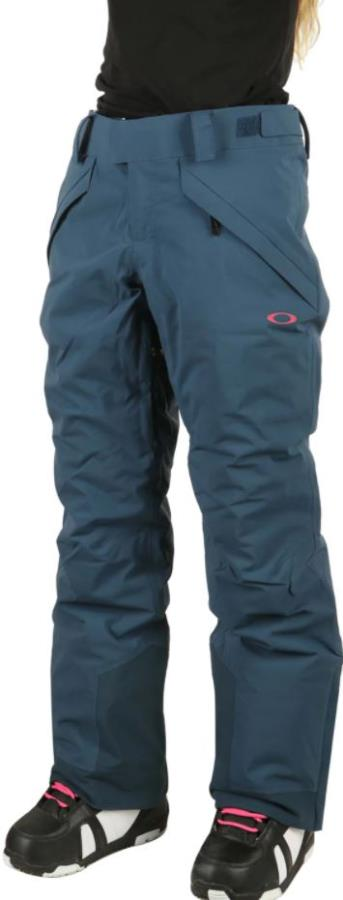 Oakley Iris Insulated Women's Snowboard/Ski Pants, M Pond Blue