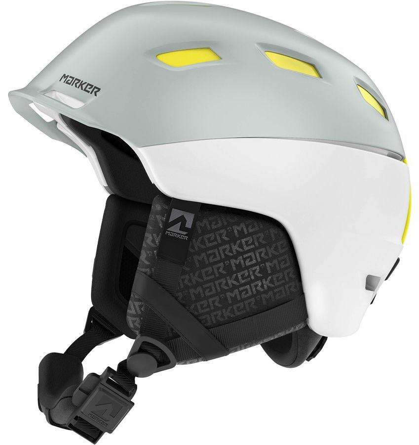 Marker Ampire Ski/Snowboard Helmet, L White