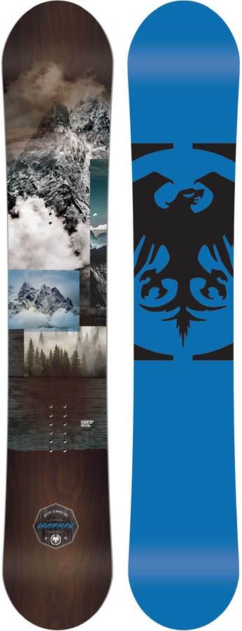 Never Summer Chairman Rocker Camber Snowboard, 164cm 2020