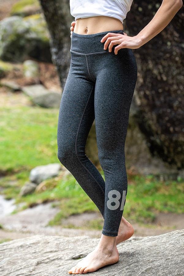 8b+ Hush Women's Climbing Leggings, XS Steel Grey
