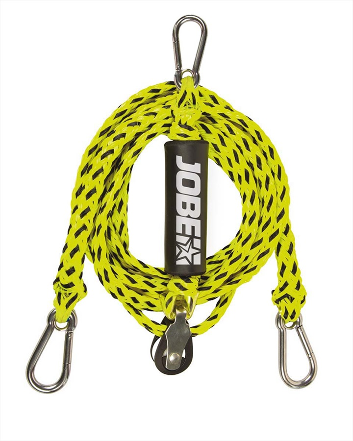 Jobe 12 Ft Watersports Bridle With Pulley, 2 Rider Yellow 2021