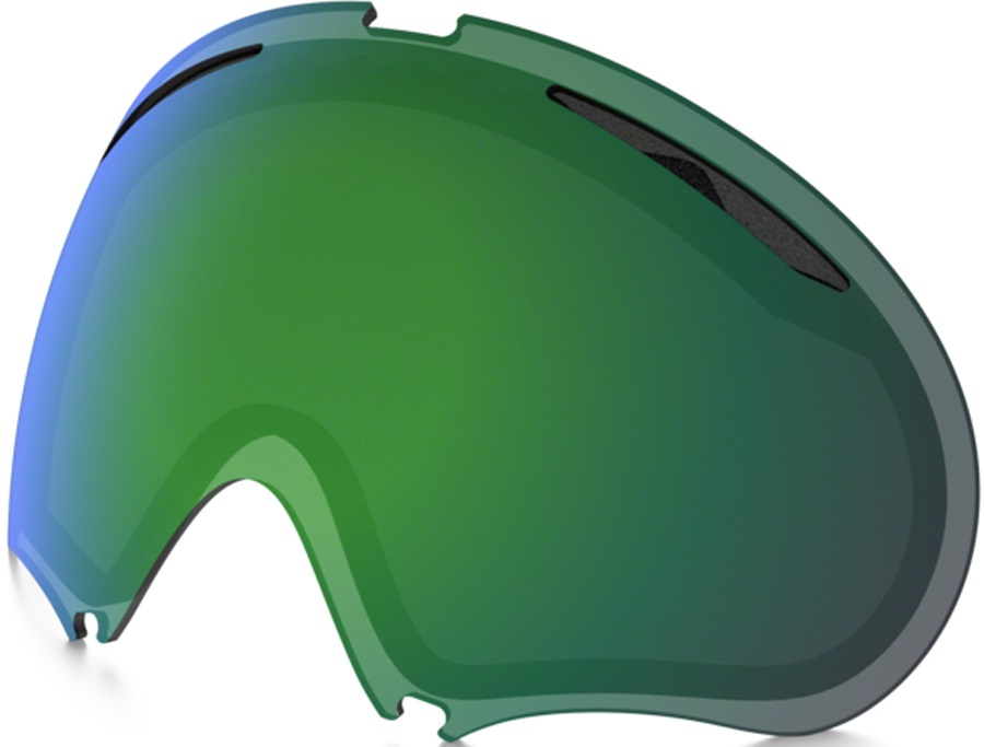 Oakley A Frame 2.0 Snowboard/Ski Goggle Spare Lens, Jade Iridium