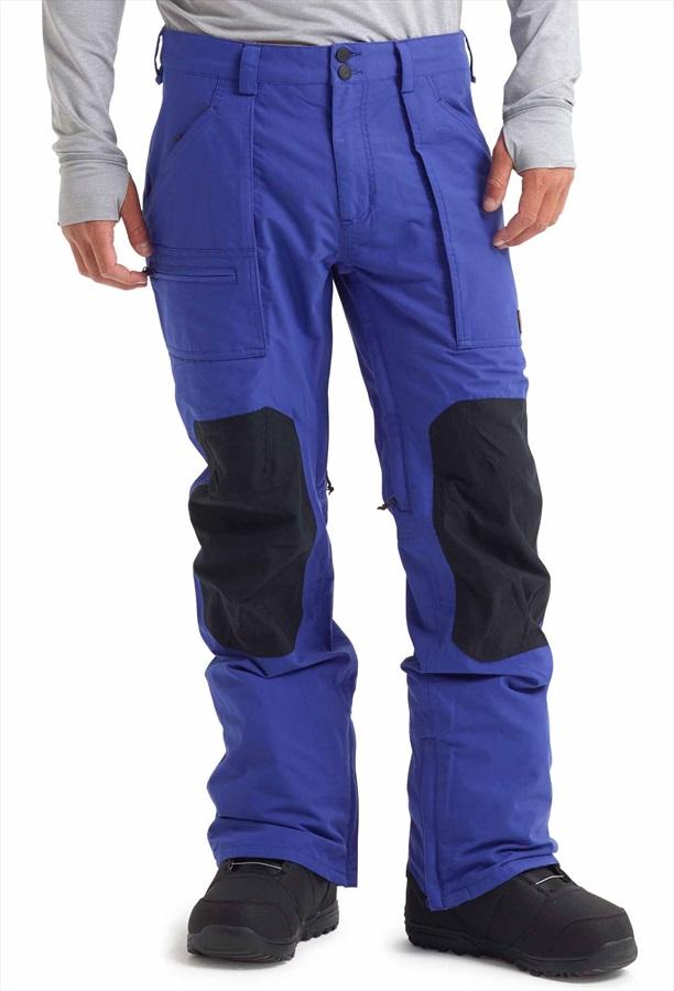 Burton Southside Slim Snowboard/Ski Pants, L Royal/True Black