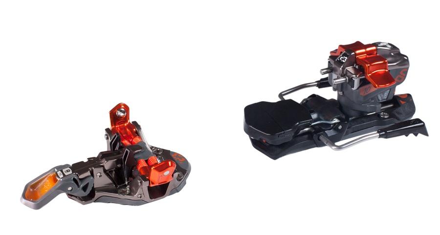 G3 ION 10 Ski Bindings, 115mm Black/Orange
