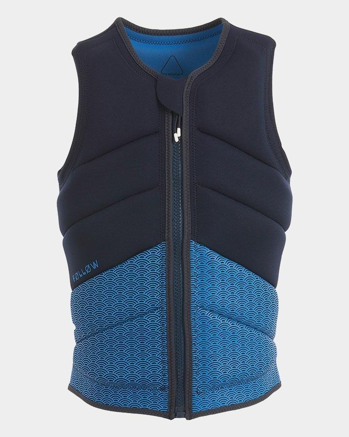 Follow Lace Women's Wakeboard Impact Vest, M Marine