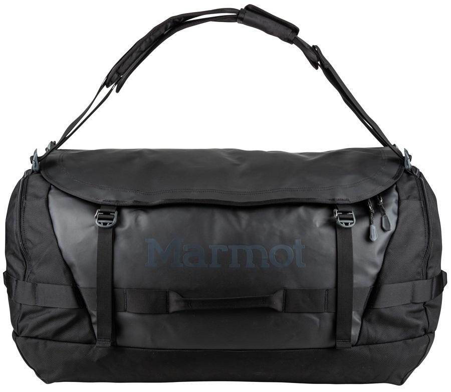 Marmot Long Hauler Duffel Travel Bag - 105L, Black