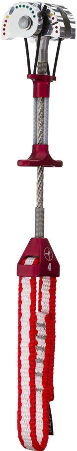 Metolius Ultralight Master Cam Rock Climbing Cam 4 Red