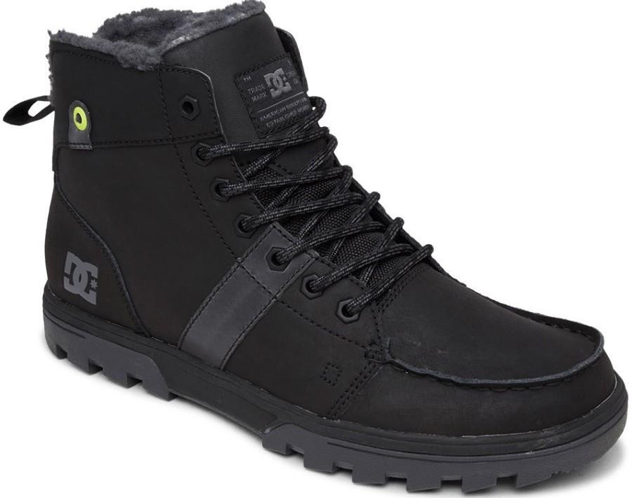 DC Adult Unisex Woodland Men's Winter Boots, Uk 7.5 Armor/Black