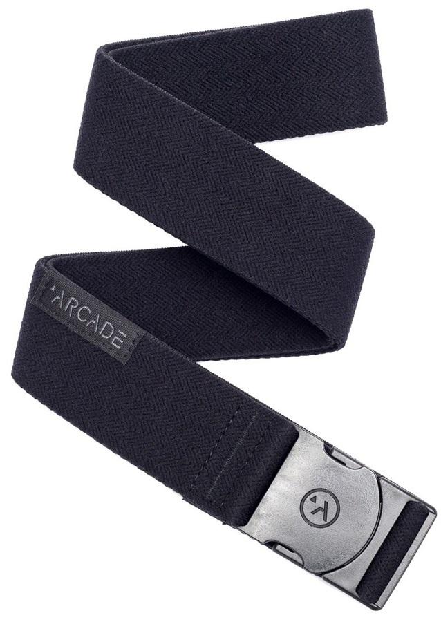 Arcade Ski/Snowboard Stretch Belt Adventure Midnighter, One Size Black