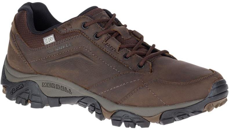 Merrell Moab Adventure Lace Waterproof Walking Shoes, UK 7 Dark Earth