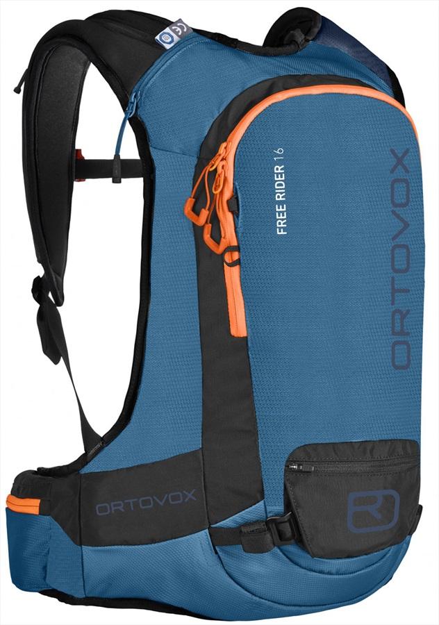Ortovox Free Rider Ski/Snowboard Backpack, 16L Blue Sea