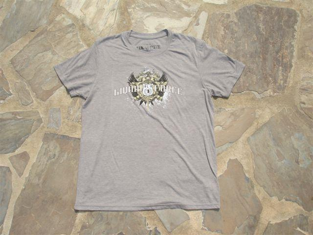 Liquid Force Shield SS Knit T Shirt, M Indigo