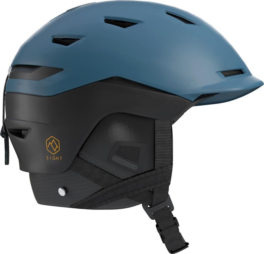 Salomon Sight Custom Air Snowboard/Ski Helmet, M Moroccan Blue/Black