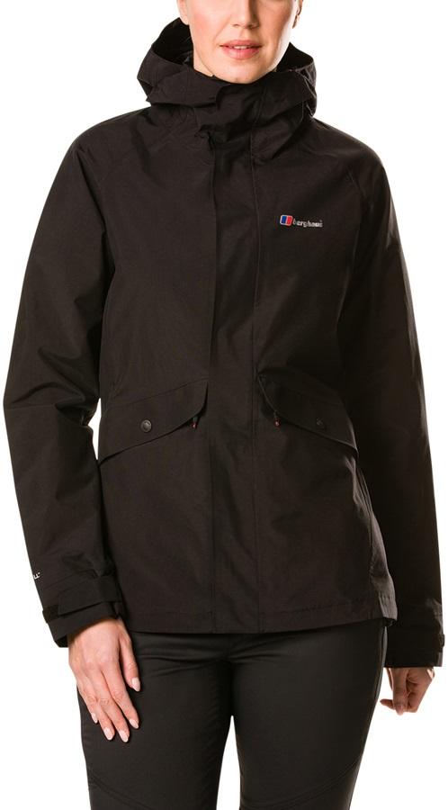 Berghaus Katari IA Women's Waterproof Shell Jacket, UK 8 Black