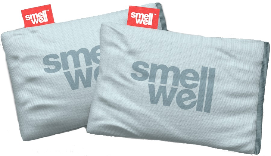 SmellWell Active Freshener Inserts Odour Eliminator, Light Grey