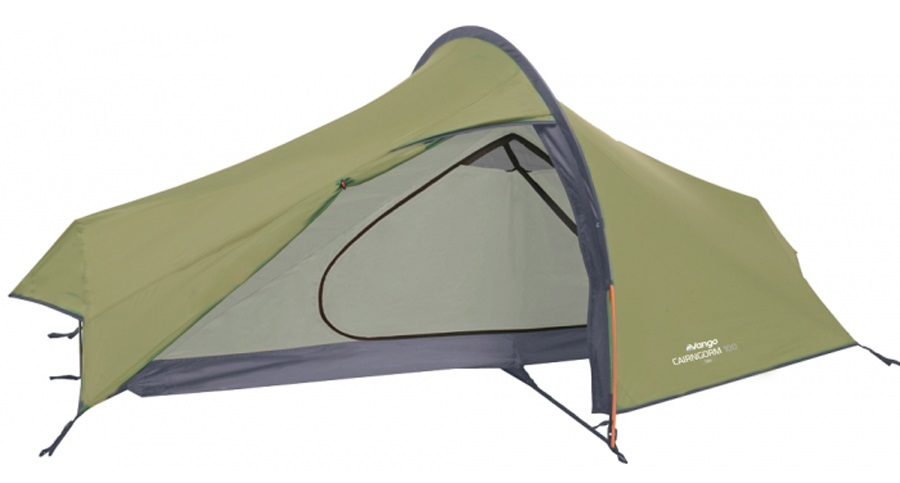 Vango Cairngorm 100 Backpacking Tent, 1 Man Dark Moss