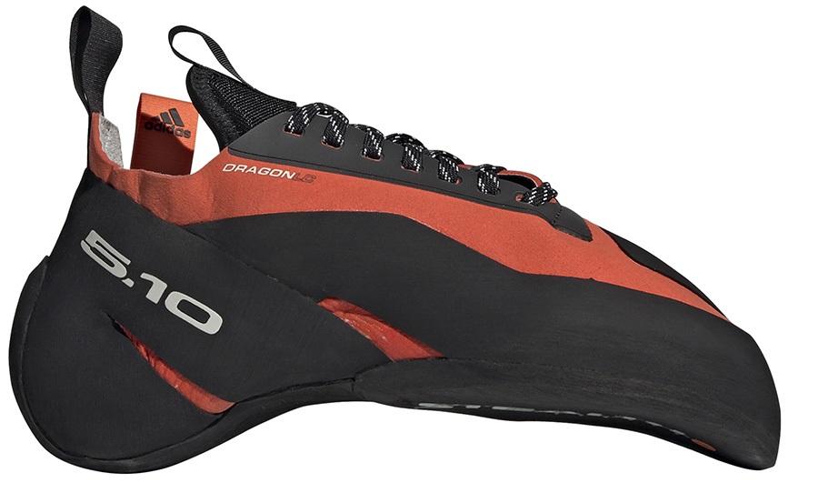 Adidas Five Ten Dragon Rock Climbing Shoe, UK 7 | EU 40.7 Orange/Black
