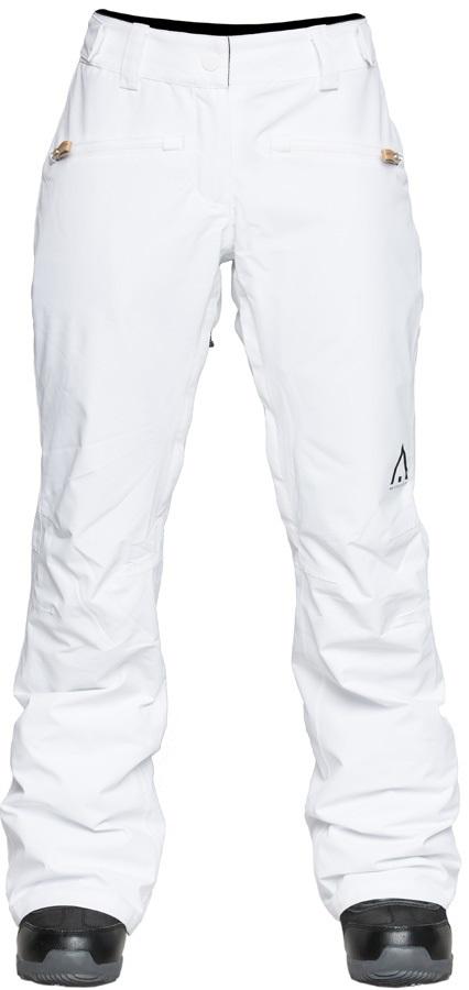 Wearcolour Cork Women's Ski/Snowboard Pants, M White