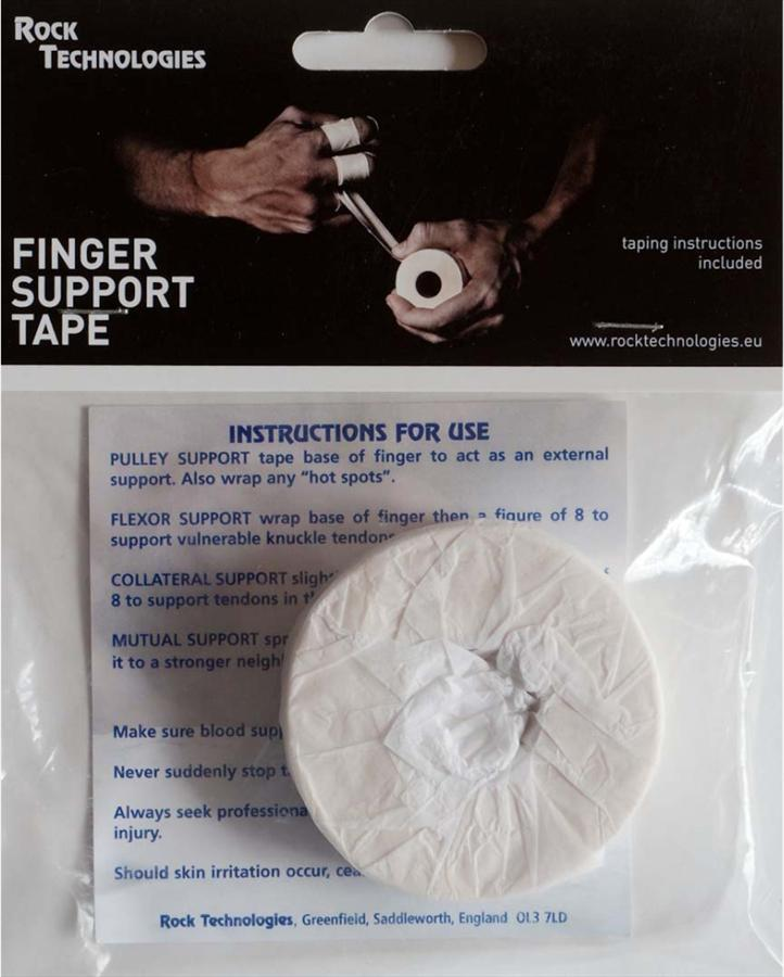 Rock Technologies Finger Support Rock Climbing Tape, 2.5cm X 10m